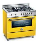 The The Italian range company has eight finishes, including a very lemon yellow.