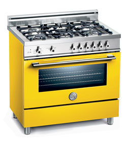 The The Italian range company has eight finishes, including a very lemon yellow.