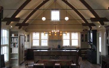 A view of the Idea Farm's kitchen