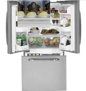 GE 22 cu ft French door refrigerator