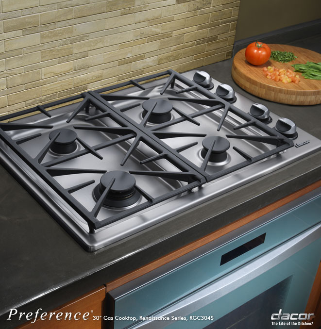 Dacor Preference 4-burner gas cooktop