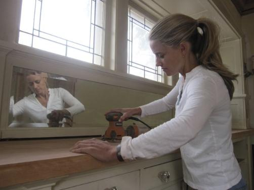 "Nicole Curtis works on the Lyndale House during this season of DIY Network's ""Rehab Addict."""