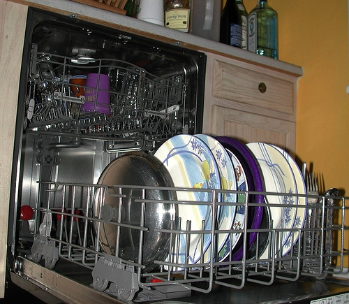 dishwasher-loading