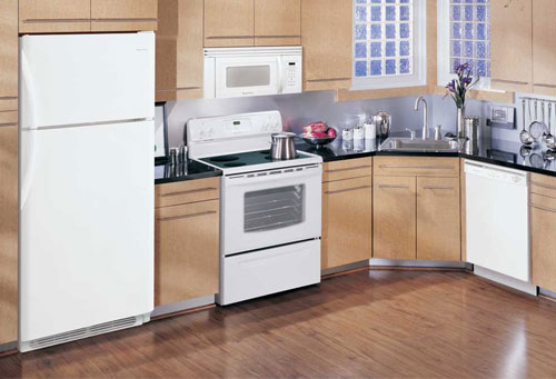 Kitchen appliance packages quickly update the style and for High end appliance packages