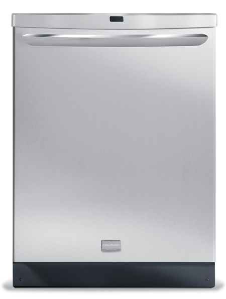 7-cycle dishwasher with hard food disposer (FGHD2433KF). While quantities last.