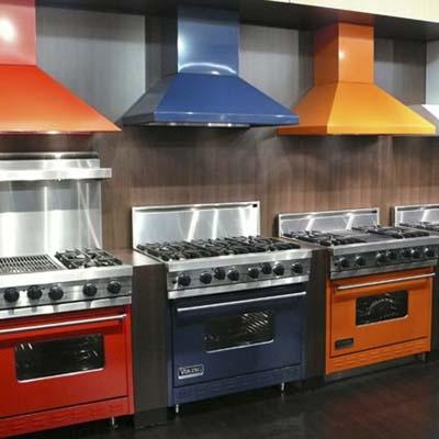 Viking Range 86es Colored Appliances Pumpkin Adds Wasabi Warner Stellian Appliance