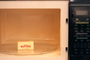 microwaving-butter