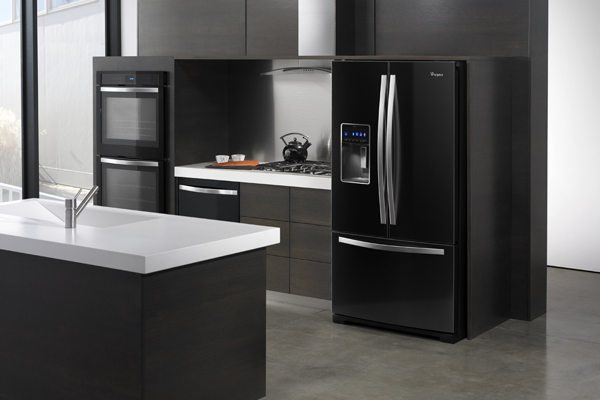 WhirlpoolIceBlackAppliances