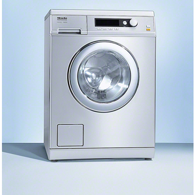 Miele stainless steel washing machine
