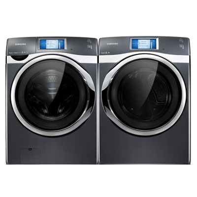 samsung dark colored washer and dryer