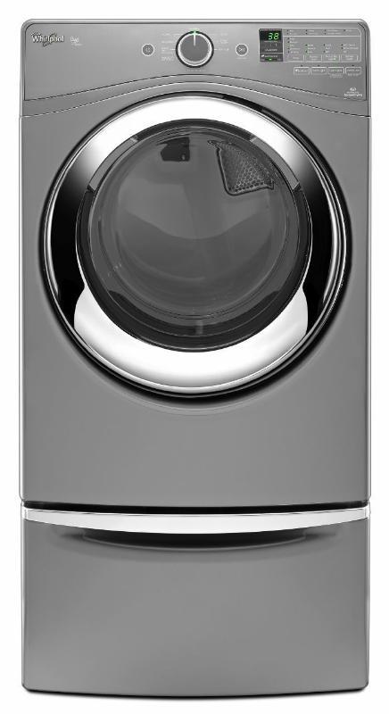 Whirlpool brand Duet® model WED87HED steam dryer